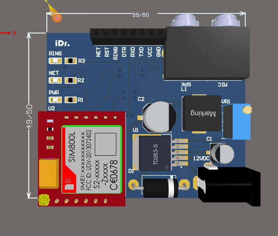 SIM800L MODULE SUPPLY