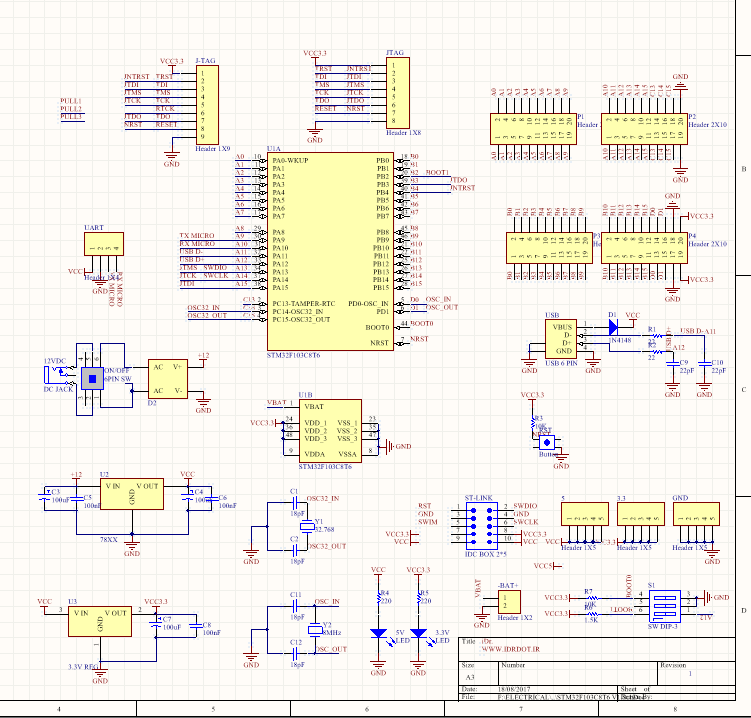 electronic zapper circuit diagram electronic circuit boards sdvr8jat v1 0  schematic diagrams: stm32f103c8t6 � idr