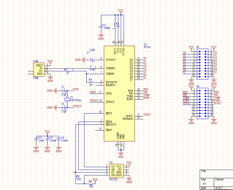 usb to parallel with ft245 fifo idr 3 Heater Parallel Schematic usb to parallel with ft245 fifo