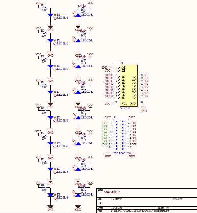 LINE FOLLOWER ROBOT 8 SENSOR IR · iDr